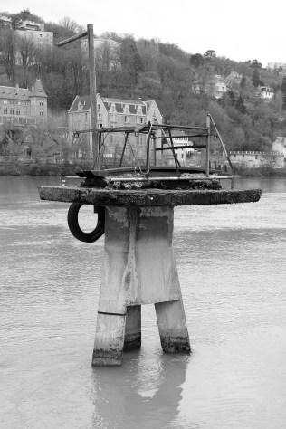 Sur la Saône.