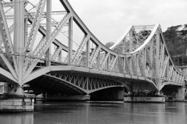 Le pont de la Mulatière.