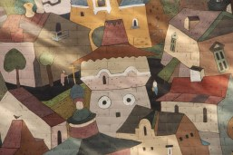 """La """"cité idéale"""", vue par un artiste russe."""
