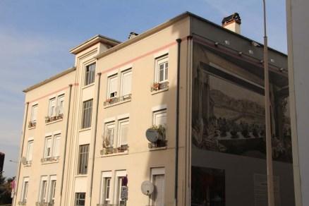 Au départ, les immeubles ne devaient être hauts que de deux étages, comme celui-ci.