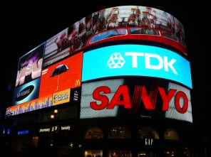 Piccadilly Circus offre un air de Times Square.