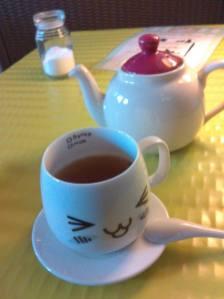 Le thé pour madame...