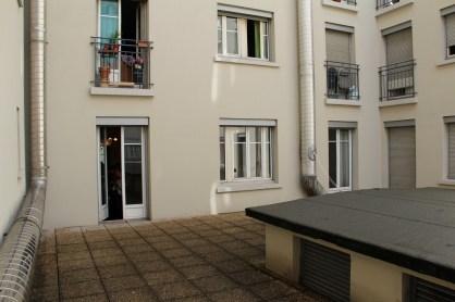 Les appartements sont dotés d'immenses balcons.