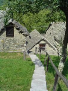 Messasca, un des hameaux de Bognanco.