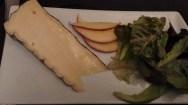 Assiette de fromages.