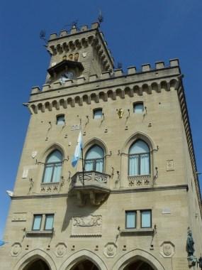Palais à Saint-Marin.