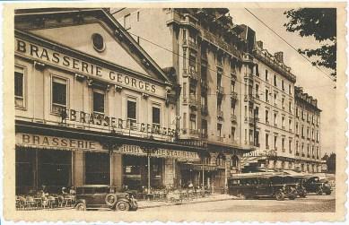 La brasserie Georges, fondée en 1836...