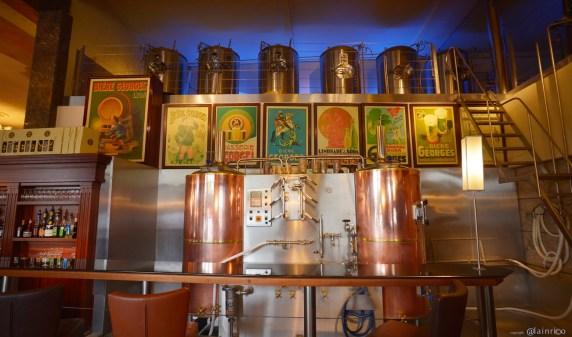 Goûter la bière de la brasserie Georges !