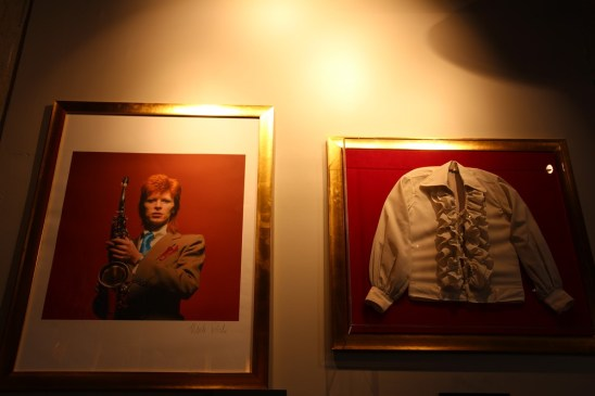 David Bowie au Hard Rock Café