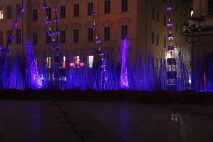 Fête des Lumières 2016 - Arobré'Lum - Place Louis Pradel