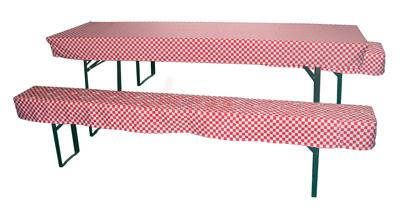 housses pour table et banc de jardin largeur 700 mm
