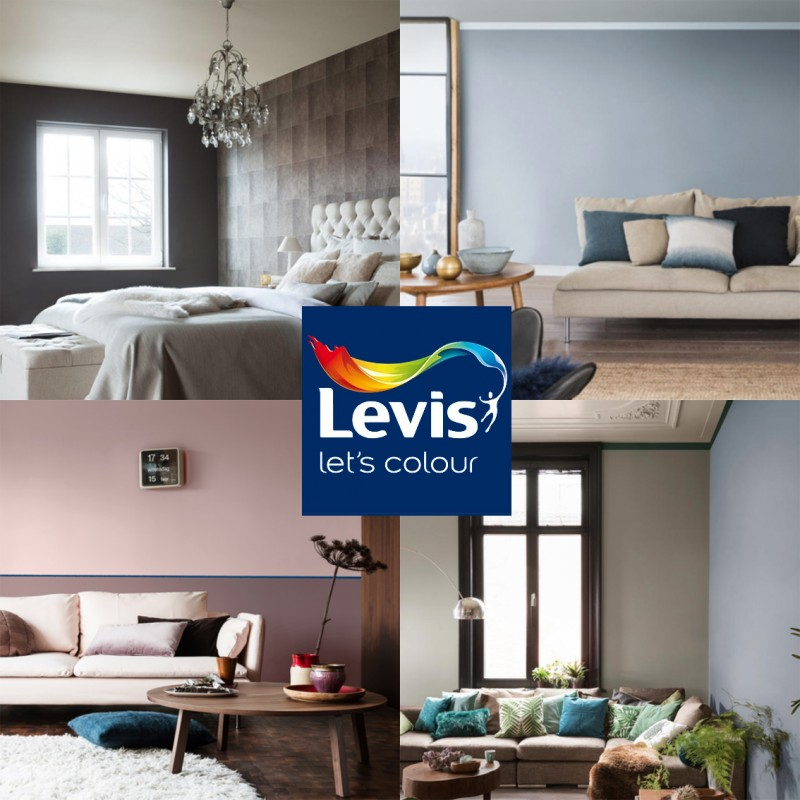 LEVIS AMBIANCE Mur extra mat Magma 1L