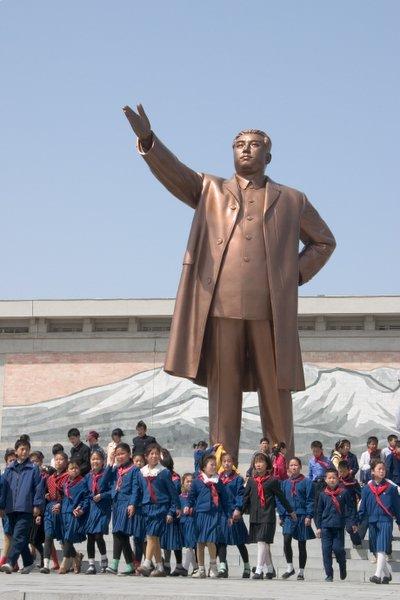 Kim Il-sung Monument at Mansudae