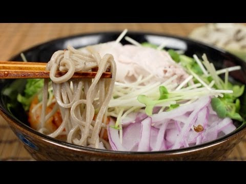 Cold Pork Soba Noodles 豚しゃぶ冷やしそば
