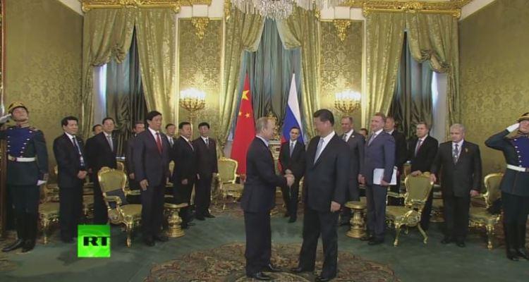 Xi Jinping and Putin meet in Moscow