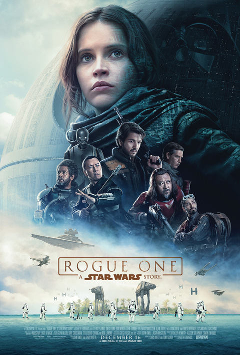 Rogue One: A Star Wars Story Movie Poster via Star Wars.com