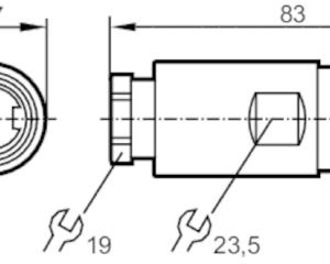 Prise à câbler IFM E70170 Maroc