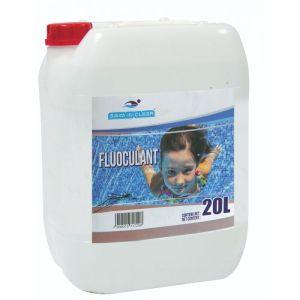 floculent swim in clear