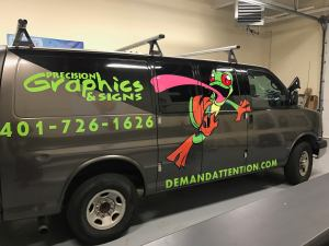 Precision Graphics & Signs Company Vehicle