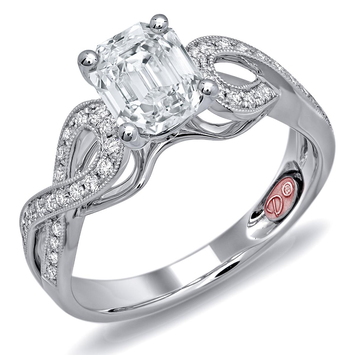 Designer Bridal Rings DW6080