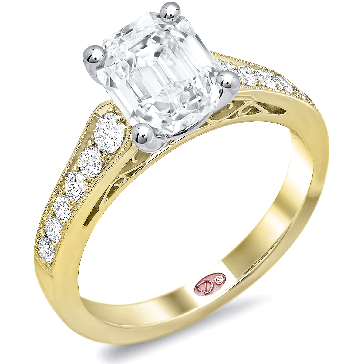 Yellow Gold Engagement Rings: Images Of Yellow Gold