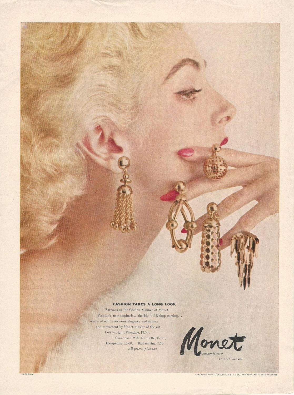 Vintage costume jewelry advertisements  DeMarc Treasures