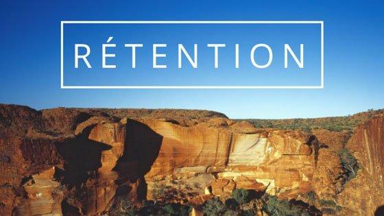 rétention utilisateur