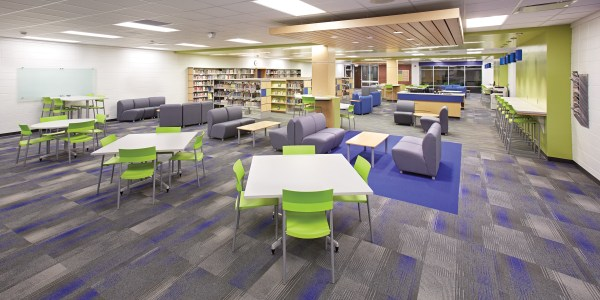School Library Interior Design