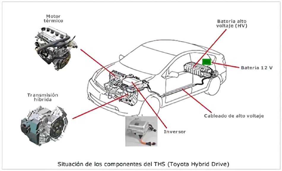 Toyota Prius Hibrido Pequeño Tour