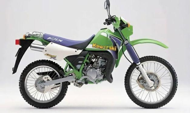 Manual de partes Kawasaki KMX 125