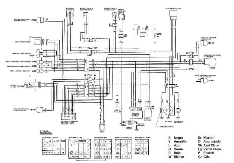Yamaha Dt 125 Wiring Diagram Pdf - Wiring Diagram Directory on