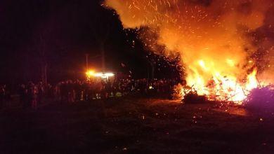 Photo of Kerstboomverbranding in Slootdorp