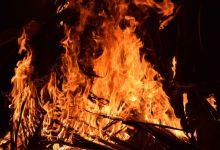 Photo of Beregeningsinstallatie in brand langs de Waardweg