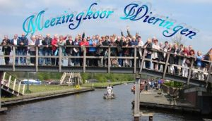 Meezingavond bij Meezingkoor Wieringen in Wieringerwerf