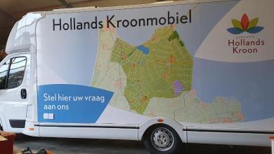 Photo of Vragen, klachten of meldingen over Hollands Kroon? Stap binnen bij de Hollands Kroonmobiel