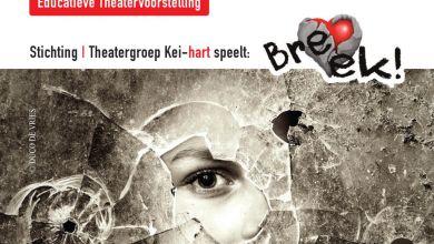Photo of Theatergroep Kei-Hart speelt educatieve voorstelling 'Breek' in de Cultuurschuur
