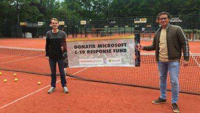 Photo of Bijdrage Microsoft C-19 Response Fund voor Tennis Club Middenmeer