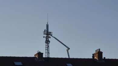 Photo of KPN pleegt onderhoud aan de mobiele mast