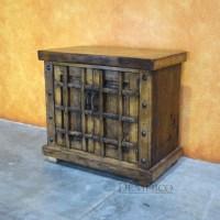 Old World Rustic Vanity Table - Demejico