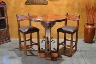 mesquite bar table