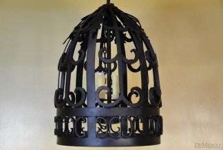 Spanish dome pendant light