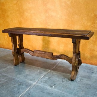 Yugos Reclaimed Wood Console Table