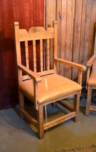 carved kitchen chair