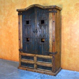 Armario Provincia, Rustic Southwest Armoire, Old World Armoire