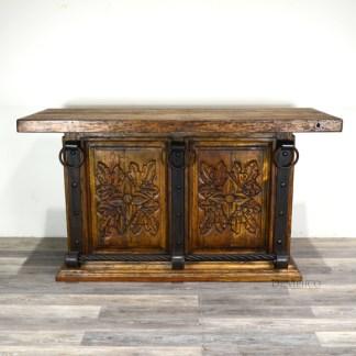 Old Wood Bar, Hand Carved Bars, Rustic Bar