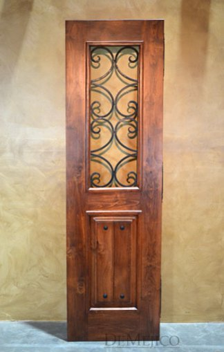 spanish pantry door