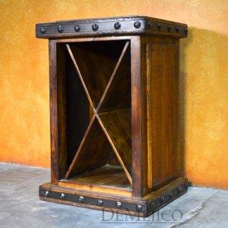 Old Wood Wine Cabinet, Rustic Wine Rack