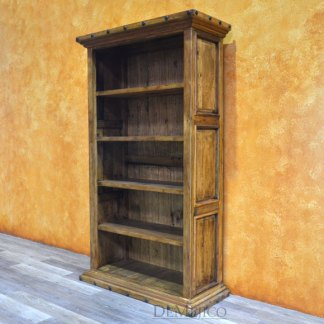 Hacienda Bookcase, Rustic Bookcase, Spanish Bookcase