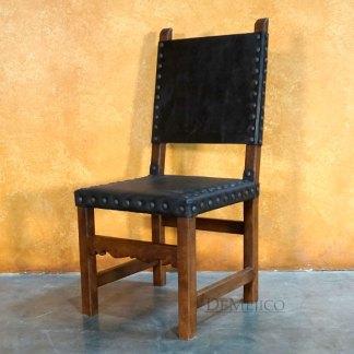 Spanish Colonial Chair, Traditional Mexican Chair - Demejico