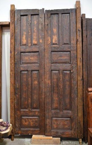 Zacatecas Old Door, Original Old Door, Spanish Accent Door